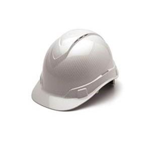 Ridgeline Cap-Style White Graphite Hard Hat