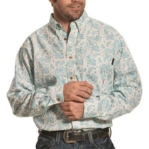 FR Crane Paisley Work Shirt