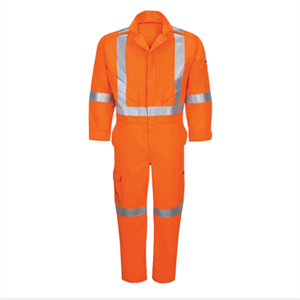 iQ Series Endurance Men's FR Coverall With Reflective Trim
