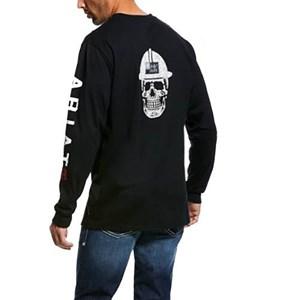 Ariat FR Roughneck Logo in Black