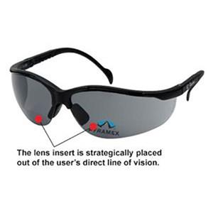 V2 Reader Safety Glasses Smoke