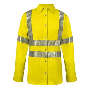 Vizable FR Hi-Vis Women's Work Shirt