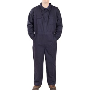 Lightweight FR Coverall in Navy - Blowout Sale!