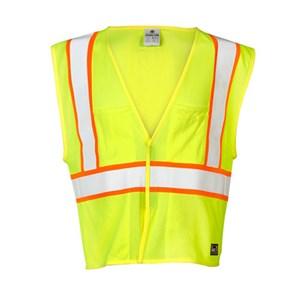 FR Pro Series Hi-Vis Mesh Vest, Class 2
