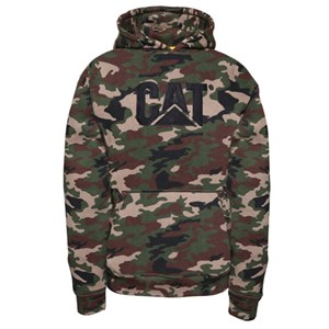 Trademark Hooded Sweatshirt in Woodland Camo